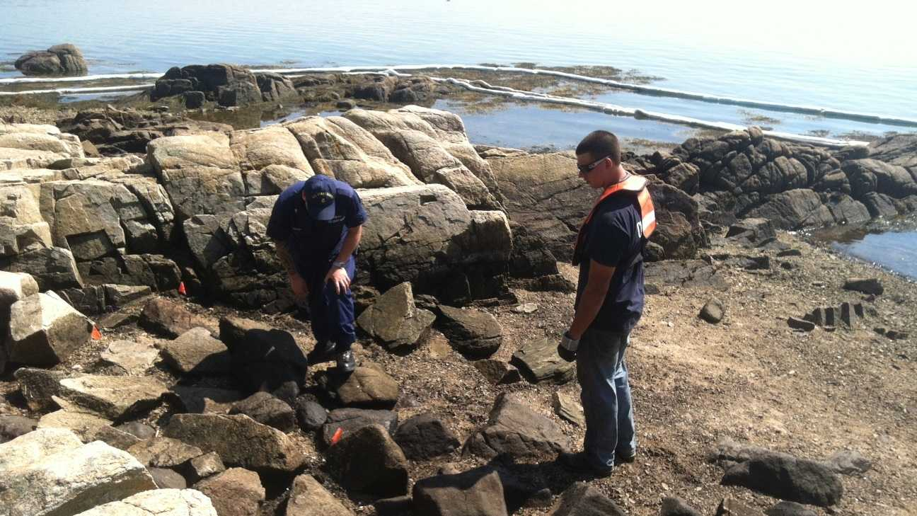 Cape Porpoise oil cleanup