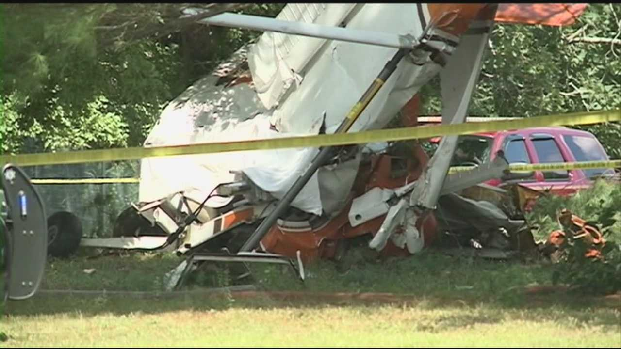Authorities have identified the two people killed in a plane crash in North Hampton Monday as Bruce Anderson and David Ingalls, both of Kingston.