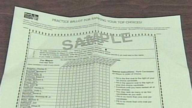 Portland Voters Face Ranked-Choice Ballot - 29709158