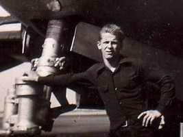 After his release from prison in 1948, he joined the Air Force.