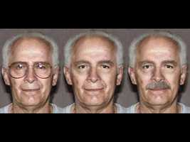 """On his 79th birthday, the FBI increased the reward to $2 Million and released these """"age-enhanced"""" photos."""