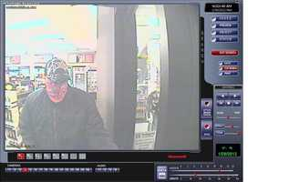 "Portsmouth Robbery ((Press Release)) The Portsmouth Police Department is investigating an armed robbery that occurred on Sunday, January 29, 2012, at approximately 5:15 p.m. at Tedeschi's on Islington St.  An unknown male subject entered the store, displayed a semi-automatic hand gun and demanded money from the cashier.  The suspect then fled the store and was last seen walking through the parking lot in the direction of Brewery Ln.  There were no other customers in the store at the time of the robbery, and the cashier was uninjured. The suspect is believed to be a white male, approximately 6'0 tall, and was wearing a black hat, a red bandana covering his face, a black jacket and jeans.  During a search of the area, patrol units located a black hat and red bandana that are believed to have been worn by the suspect during the robbery.  These items are distinctive.  The hat is a black baseball style cap with a ""TAP OUT"" logo on the front.  The bandana is red with white and black lettering, ""AMB"", which is believed to represent the music group Axe Murder Boyz.  At this time police are continuing to investigate the incident.  Anyone who saw a person fitting the description of the suspect in the general area surrounding Tedeschi's on Islington St. is encouraged to contact the Portsmouth Police. Due to the nature of this incident, the suspect should be considered armed and dangerous.  If you have any information regarding the suspect's identity or whereabouts, please contact the Portsmouth Police Department Detective Division at (603)436-2511, or remain anonymous by contacting Crime Stoppers at (603)431-1199 or on the website www.seacoastcrimestoppers.org."