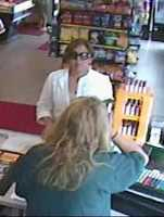 Concord Theft ((Press Release)) CPD Case# 11-34123-OF:The Concord Police Department is asking the public for their assistance in identifying the suspect in a recent theft of a wallet that occurred at a Concord business.The crime under investigation occurred on August 6th at approximately 10:00 am at Hannaford's located at 73 Fort Eddy Road. A customer mistakenly left his wallet at the checkout register after making a purchase. When the victim returned a short time later the wallet was gone. The wallet contained identification, credit cards, and an undisclosed amount of money. The victim's debit card and credit card were fraudulently used on numerous occasions on August 6th between 11:04 am and 12:57 pm in Concord. Video surveillance has been obtained as evidence in this investigation. Shortly after the victim had his wallet stolen a female of interest can be seen using the victim's debit card at the Market Basket on Storrs Street and again approximately one hour later at the Sunoco gas station on Manchester Street. The Concord Police Department is asking the public to assist in identifying the individual of interest depicted in the photographs obtained from the video surveillance. Anyone who has information relative to any criminal incident is asked to call the Concord Regional Crimeline at (603) 226-3100, or submit information online to the website at: www.concordregionalcrimeline.com, or Txt TIP234 and their message to CRIMES (274637).  Crimeline awards cash to anyone whose information leads to the arrest and indictment of criminals. All tips remain anonymous.