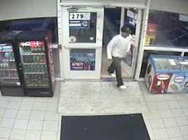 "Salem Robbery ((Press Release)) On August 329,2011 At 7:45pm Salem Police responded to 242 North Broadway, Irving Gas for an Armed Robbery that had just occurred. A white male approximately 5'6"" tall in his late 20's to mid 30's, athletic build approached the cashier and opened a pocket knife and pointed it at the cashier and demanded money from the cash register. The suspect fled the store with an undetermined amount of money and left the area. Salem Detectives responded and processed the scene. If anyone has any information please call the Salem Police @ 893-1911 or Southern NH Crimeline @ 893-6600."
