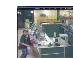 North Hampton Theft ((Press Release)) – On May 10, 2011, the North Hampton Police received a report of theft from Subway Restaurant, 7 Lafayette Road.  The theft occurred between 8:15 PM on 5/9/11 and 8:25 PM on 5/9/11.  The North Hampton Police are asking for the public's assistance in an attempt to identify a person of interest pictured in the attached photos.Anyone with information on this incident or any other crimes in North Hampton is asked to call Detective Peter Cormier at #603-964-2198 x-2238 or e-mail at pcormier@northhampton-nh.gov.  Anonymous tips can also be given to the Crimeline for the Hamptons at #603-929-2222, or at www.hamptonscrimeline@yahoo.com.  Cash rewards are paid out for tips to the Crimeline that leads to the arrest and conviction of the suspects.