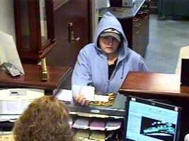 "Salem Bank Robbery ((Press Release)) On  July 29th at 3:30pm the Salem Police responded to a bank robbery at Pentucket Bank, 234 N. Broadway. Bank employees stated a female subject entered the bank and passed a note demanding money. The suspect fled on foot heading towards Irving Gas. She is described as a white female, light complexion, large build, 5' 6"" tall, and wearing a light blue hoodie, brown pants, and a white baseball hat possible with a Red Sox logo.  A Salem K9 responded, but police believe she may have fled in a gray or white Chevy Impala 4 dr sedan. The suspect got away with an undetermined amount of cash. Anyone with information is asked to call the Salem Police Department at 893-1911 or Southern NH Crimeline at 893-6600."