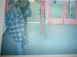Salem Theft ((Press Release)) At 4:40 p.m. on May 17, 2011 a theft of a wallet occurred at Market Basket located at 167 South Broadway in Salem, NH. The female wearing a black leather jacket and black hat was seen on video distracting the victim while the female in the plaid button down jacket and black hat was seen reaching into the victim's purse and taking her wallet. When the victim went to cancel her credit card she discovered it was used at Best Buy in Salem where they purchased $1,421.88 worth of merchandise. The two females also attempted to use the card at Target in Salem and purchase $620.00 worth of merchandise. They were seen exiting Target and getting into a white vehicle with an unknown make and model.  Anyone with information about this case is asked to call Salem Police at 603-893-1911