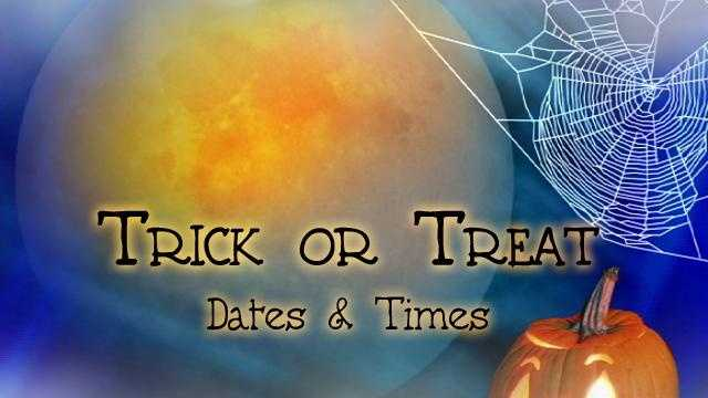 Trick Or Treat Times - Title Graphic - 21306785