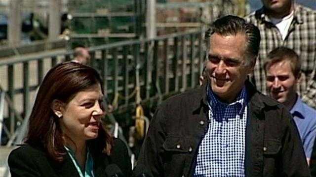 Kelly Ayotte, Mitt Romney