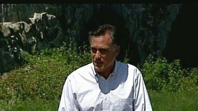 Mitt Romney in Hillsborough