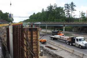 Route 3 Bridge Over Everett Turnpike: This bridge replacement and roadway reconstruction project is on US Route 3 over the F.E. Everett Turnpike in Bedford.