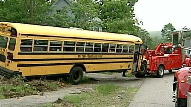Milton School Bus Crash