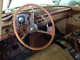 1956 Ford Town sedan interior