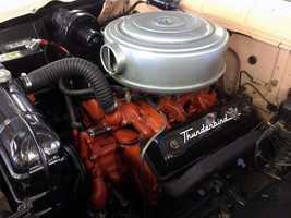 1956 Ford Town sedan engine