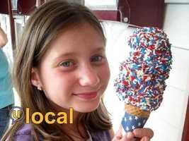 #2 Lago's Homemade Ice Cream - 71 Lafayette Road, Rye, N.H.