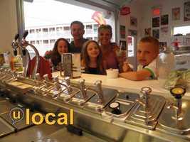 #5 Yesteryears Ice Cream Shoppe - 19 Ocean Blvd., Hampton Beach, N.H.