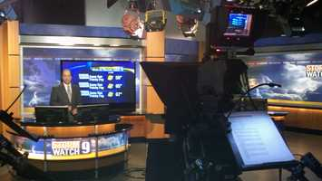 10:16 pm: Mike Haddad delivers the forecast.