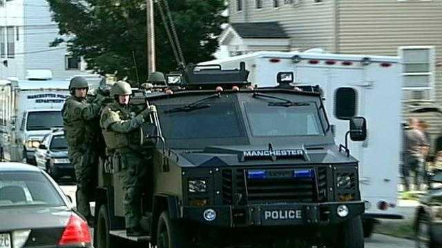 Manchester SWAT standoff
