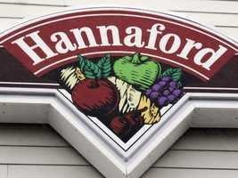 No. 5: Hannaford -- $148,451.84 (purchases, purchase with cash back, cash withdrawals)