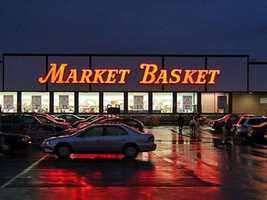 No. 7: Market Basket -- $79,271.38 (purchases, purchase with cash back, cash withdrawals)