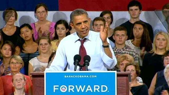 President Obama at Windham High School