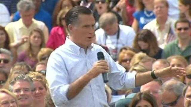 Mitt Romney, Paul Ryan visit New Hampshire