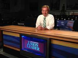 News 9's Josh McElveen prepares for the debate.