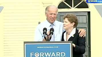 Sen. Shaheen then introduced Vice President Joe Biden.