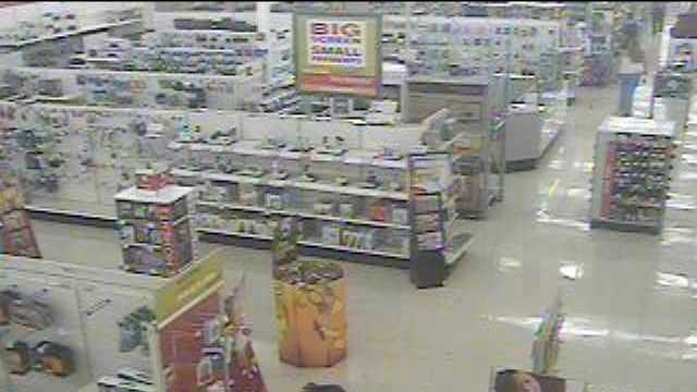 Police are looking for information on a K-Mart visitor
