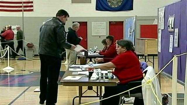 Polls open for New hampshire primary elections