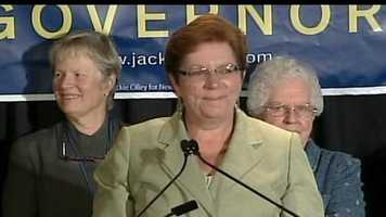 Jackie Cilley conceded the primary election just before 10 p.m.