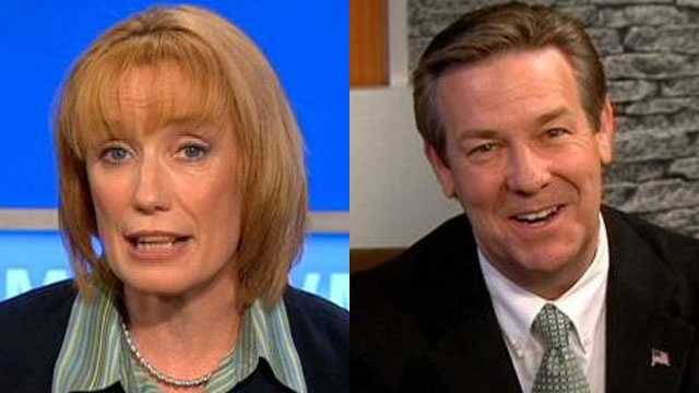 Maggie Hassan and Ovide Lamontagne