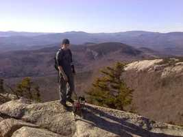 5. Welch Mountain and Dickey Mountain Loop.
