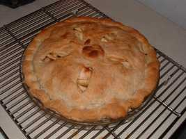 Our second-most popular choice: Apple pie.