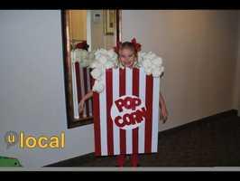 Movie popcorn.
