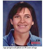 Here's an age-progressed photo of what Tammy-Lynn Belanger may have looked like at 30 years old in 2006.If you have seen Tammy Lynn, or have any information concerning her whereabouts, please contact The Exeter Police Department at (603)772-1212, the New Hampshire State Police Missing Persons Unit at (603)-271-2663 or the National Center for Missing and Exploited Children at 1-800-THE-LOST.