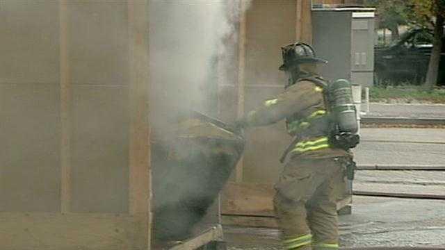 Cooler temperatures raise fire safety concerns