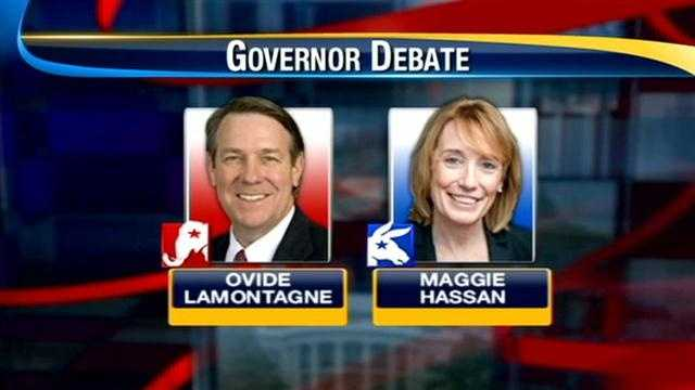 Hassan, Lamontagne square off in televised debate