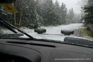 Signifcant snowfall was also recorded on Mt. Washington...