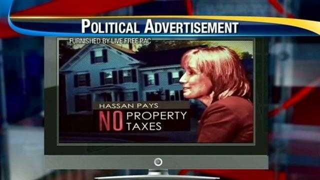 Hassan blasts PAC ad focused on her home