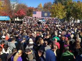 An estimated 6,000 people turned out for the event.