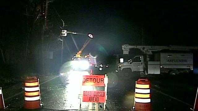 Windham hit hard by Sandy