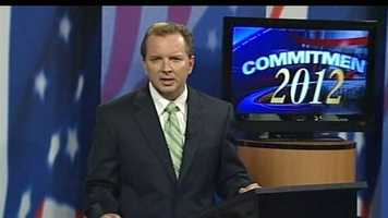 News 9's Josh McElveen moderated the debate.