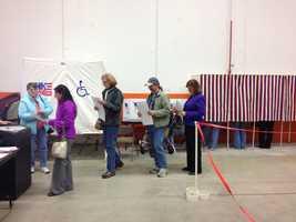 Carol-Shea Porter voting.