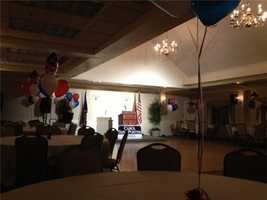 Carol Shea-Porter's campaign headquarters tonight at Portsmouth Country Club. Live at 6pm.