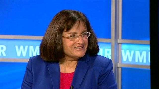 Congresswoman-elect Annie Kuster live on Daybreak the morning after the election