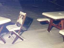 Snow in Danville