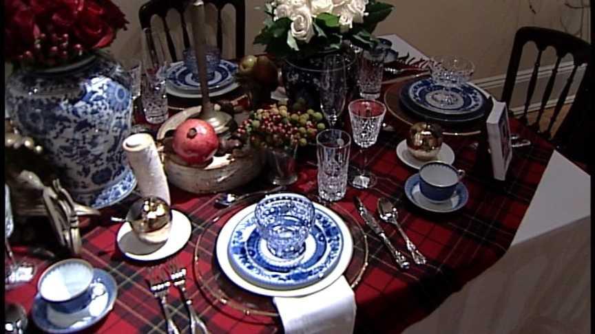 Tuesday November 20th: Table Settings