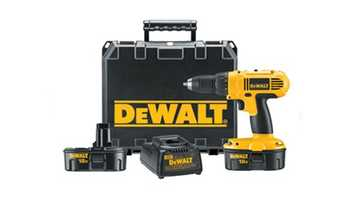 And a DeWalt 18-vot cordless drill for $99, which the store claims is a $90 savings.