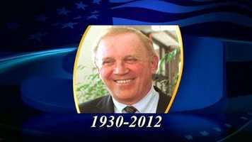 Former U.S. Sen. Warren Rudman (R-New Hampshire) has died. He was 82 years old.